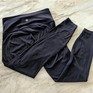 Athleta small navy blue leggings